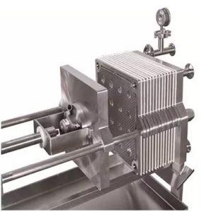 filter press side